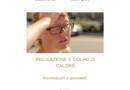 Insolazione e colpi di calore: riconoscerli e prevenirli