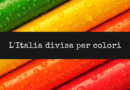 L'Italia divisa per colori